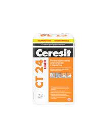 <b>Штукатурка цементная Ceresit</b> CT 24 Light с перлитом 20 кг ...
