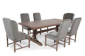 seven piece dining set:  universal authenticity oxford seven piece dining set