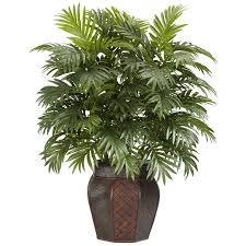 38 inch areca palm in vase artificial plants for office decor