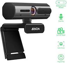 AutoFocus Full HD Webcam 1080P with Privacy ... - Amazon.com