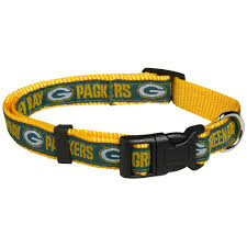 green bay packers dog collar pet accessories home office green bay packers dog collar