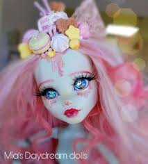 Dolls - ooak doll - monster high doll - repainted doll - Mia's ...