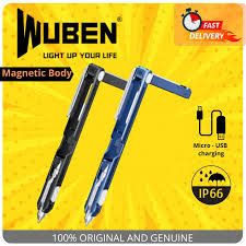 100% ORIGINAL  <b>WUBEN GECKO E61</b> RECHARGEABLE PEN ...