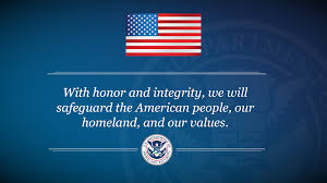 mission statement homeland security high resolution image