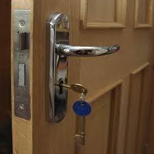 Attractive Exterior Wood Double Doors 5  Front Door Lock Types  O