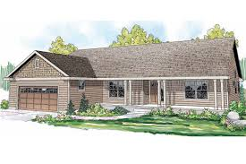 Builder House Plans   Builder Home Plans   Associated DesignsRanch House Plan   Fern View     Front Elevation