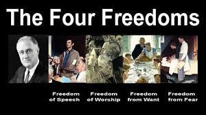 「the four freedoms」の画像検索結果