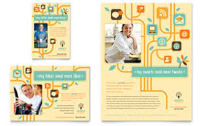 marketing agency  flyer templates  word amp publisher flyer amp ad template