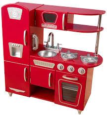 Red Retro Kitchen Accessories Kidkraft Red Retro Vintage Kitchen Free Shipping