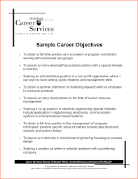sample resume goals objectives resume builder sample resume goals objectives sample resume objectives what is a resume objective for career objective examples