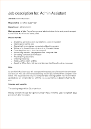 systems administrator job description resume business administration job description samples business system good example resume sample acting resume template examples of
