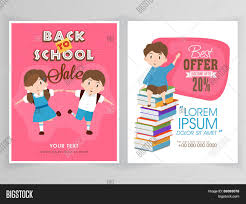 flyer template or banner design for back to school flyer template or banner design for back to school discount offer on educational