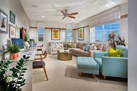 breezy and cheerful home office in white and light blue design william lyon homes blue white home office