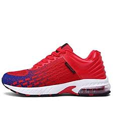 FUSHITON <b>Mens</b> Womens Trainers Air Cushion <b>Running Shoes</b> ...