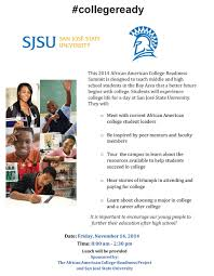 african american college readiness summit division of student 2015 flyer middot 2014 flyer