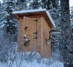 Ana White   Outhouse Plan for Cabin   DIY ProjectsHow to build an outhouse   plans