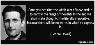 Image result for orwell appendix to 1984