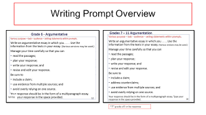 english language arts writing component florida standards 4 writing prompt overview write 7 th grade will write response
