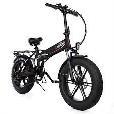 <b>ENGWE EP-2 500W</b> Folding Fat Tire Electric Bike with 48V 12.5Ah ...