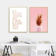 Pineapple <b>Cuadros Decoracion</b> Wall Pictures For Living Room Wall ...