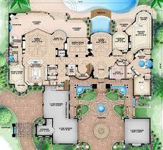 Florida Style House Plans   Plan   Main Floor Plan
