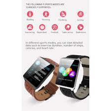 Smart Bracelet <b>CK19 1.3 Inch</b> Touch Screen IP67 Waterproof Blood ...