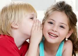 Resultado de imagen de niños hablando