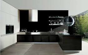 wonderful home interior design ideas for kitchen ideas with cool black furniture and captivating stainless steel awesome black white wood modern design amazing