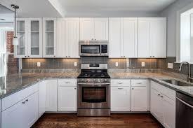 shaped kitchen design granite countertop furniture with u shaped kitchen design in white with white wooden cabi