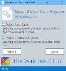 Thumbnail and <b>Icon</b> Cache Rebuilder — сбрасываем кэш иконок и ...
