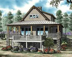 Plan ND  Low Country Cottage House Plan   Country Cottages    Raised high off the ground  this Low Country cottage house plan makes a wonderful primary