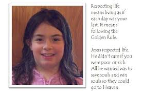 essay contest   beads of st  dominicwinning respect life essay by kate wagner  grade