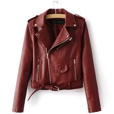 <b>2018</b> Autumn <b>Winter</b> Short <b>Faux</b> Leather Jacket Basic Women Coat ...
