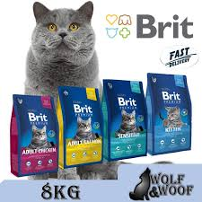 <b>Brit Premium</b> Salmon, Brit <b>Sensitive</b> Lamb, Brit <b>Cat</b>, Brit Adult