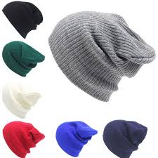 Men's <b>Women Beanie</b> Loose <b>Knit Cap</b> Winter Warm Unisex <b>Hat</b> Soft ...
