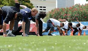 Image result for michelle obama showing her football moves