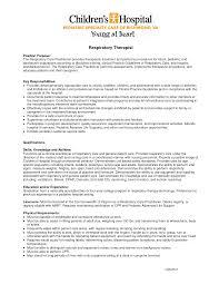 respiratory therapy resume respiratory therapy resume 5627