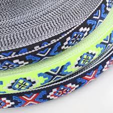 2019 <b>Meetee 2cm Jacquard</b> Embroideried Webbing Ribbons DIY ...