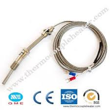 m6 screw probe k type thermocouple 1m industrial temperature sensor cable wire h028 drop shipping