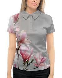"""Рубашка Поло с полной запечаткой """"<b>Spring</b>"""" #2000639 от Эдуард ..."""