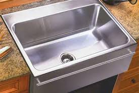 just mfg extra large stainless steel apron front single bowl drop in kitchen sink with apron kitchen sink