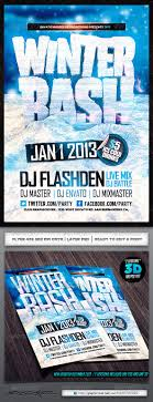 winter bash psd flyer by industrykidz graphicriver winter bash psd flyer events flyers
