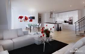 brilliant red and white living rooms purple white living room diner awesome studio loft design ideas brilliant red living room furniture