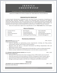 administrative assistant resume sample writing guide professionally written administrative assistant resume sample
