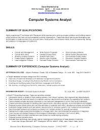 business systems analyst resume sample  seangarrette cobusiness systems analyst resume
