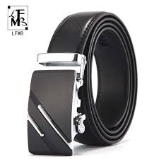 [<b>LFMB</b>]<b>Men's</b> belt <b>leather belt men</b> pin buckle cow genuine leather ...