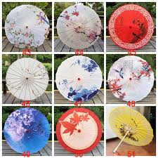 2019 <b>Chinese Traditional</b> Craft <b>Oil Paper</b> Umbrella Wooden Handle ...