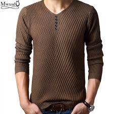 Spring <b>Autumn</b> Men Casual <b>Sweater</b> Wool <b>Pullover Knitted Clothing</b> ...