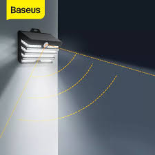 <b>Baseus LED Solar Light</b> Outdoor Solar Garden Lights Motion Sensor ...
