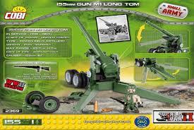 Купить <b>Конструктор COBI</b> 155 mm Gun M1 <b>Long</b> Tom в магазине ...